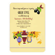 Greek Urns Invitation