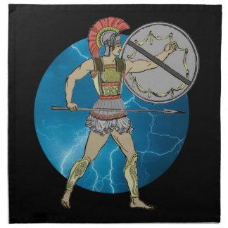 Greek Warrior American MoJo Napkin