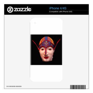 Greek Warrior Head iPhone 4 Skin