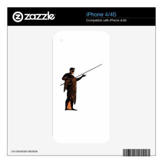 Greek Warrior iPhone 4 Decals