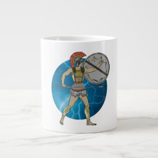 Greek Warrior Mug (3) sizes