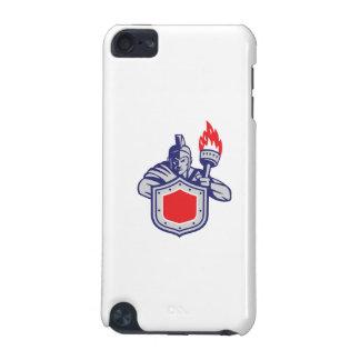 Greek Warrior Shield Torch Retro iPod Touch 5G Case