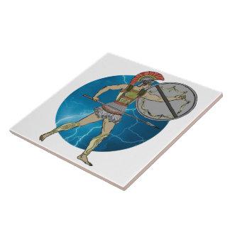 Greek Warrior Tile (2) sizes