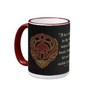 Greek Warrior's Mug mug