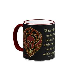 Greek Warrior's Mug