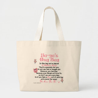 Greek - Ya-ya - Plural Verse Canvas Bag