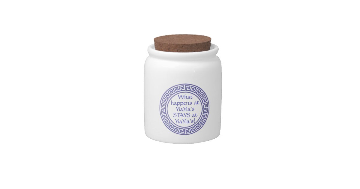 Greek Yiayia Grandma Cookie Jar Zazzle Com