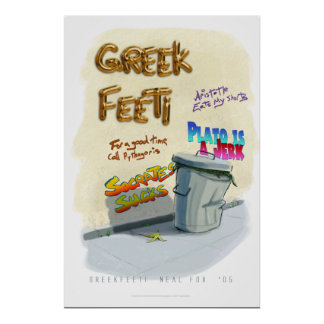 Greekfeeti Poster