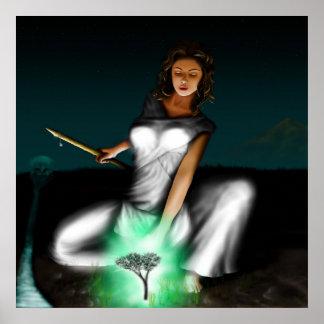 GreekGods-Athena Poster