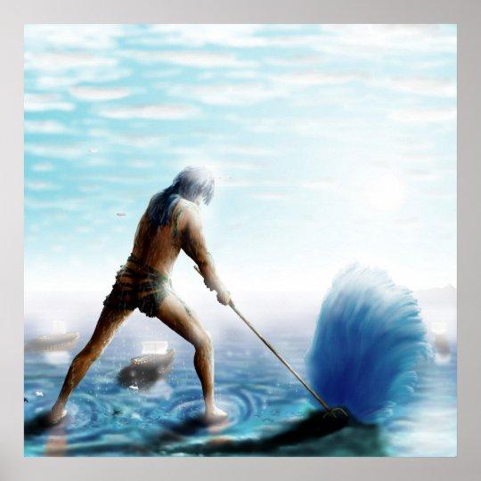 GreekGods-Poseidon Poster