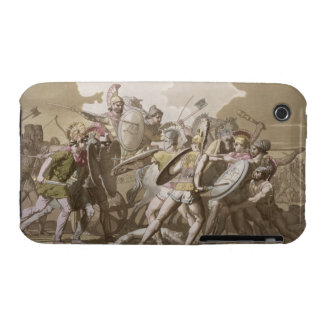 Greeks and Trojans Fight over the Body of Patroclu iPhone 3 Case-Mate Cases