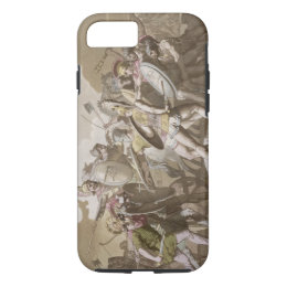 Greeks and Trojans Fight over the Body of Patroclu iPhone 8/7 Case