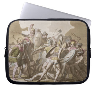 Greeks and Trojans Fight over the Body of Patroclu Laptop Sleeves