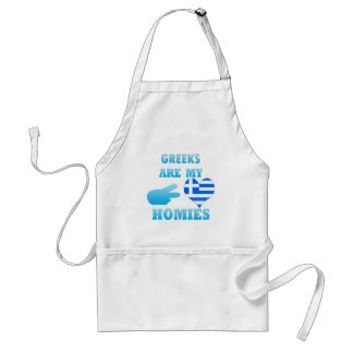 Greeks are my Homies Aprons