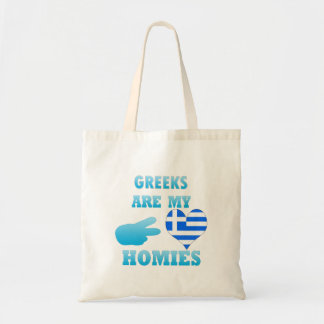 Greeks are my Homies Canvas Bag