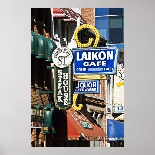Greektown Posters