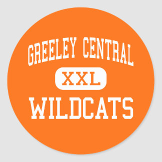 Greeley Central - Wildcats - High - Greeley Classic Round Sticker