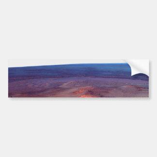 Greeley Haven Cape York Endeavour Crater Mars Car Bumper Sticker