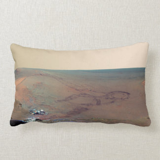 Greeley Haven Panorama Mars Rover Opportunity Throw Pillow