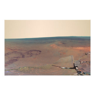 Greeley Haven Panorama Mars Rover Opportunity Customized Stationery