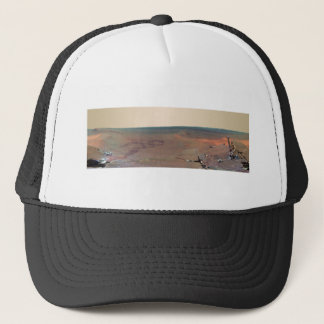 Greeley Haven Panorama Mars Rover Opportunity Trucker Hat