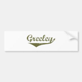 Greeley Revolution t shirts Car Bumper Sticker