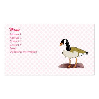 Greelie Goose Business Card Template