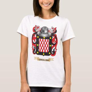 Greelish Coat of Arms (Family Crest) T-Shirt
