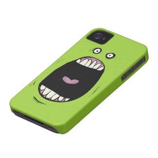 Greemn Monster Blackberry Bold Case
