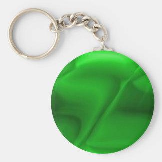 green097 basic round button keychain
