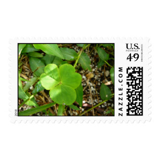 green3 postage stamps