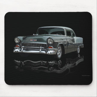 green 1955 mouse pad