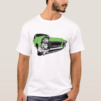 Green 1965 Pontiac Grand Prix T-Shirt