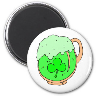 Green%20Beer%202 2 Inch Round Magnet