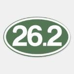 Green 26.2 Sticker (Full Marathon Sticker)