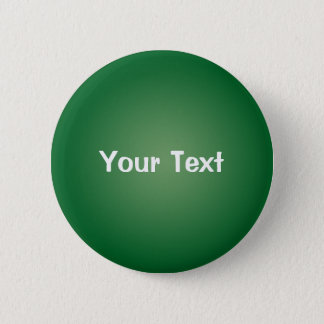 """Green 2 1/4"""" Custom Text Button Template"""