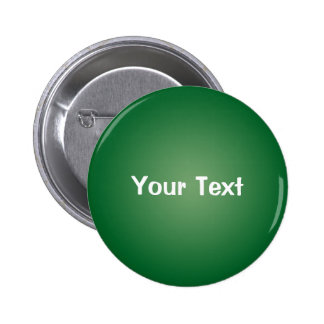 "Green 2 1/4"" Custom Text Button Template"