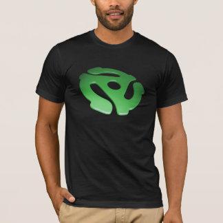Green 3D 45 RPM Adapter T-Shirt