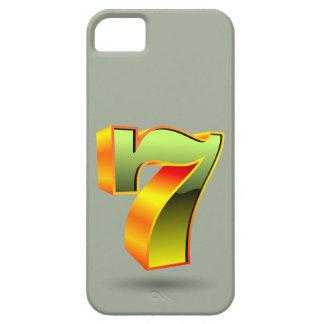 green 3D seven number iPhone SE/5/5s Case