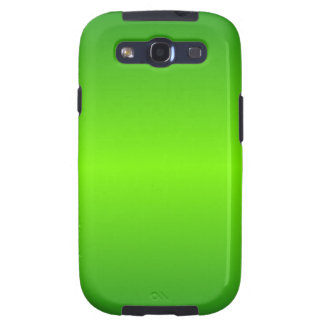 Green 4 - Lawn Green and Forest Green Gradient Galaxy SIII Case
