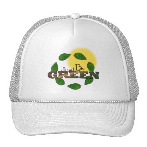 Green 4 trucker hat