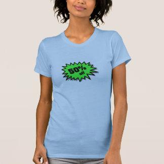 Green 50 Percent Off Tshirt