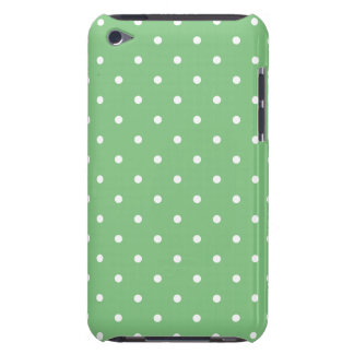Green 50's Style Polka Dot iPod Touch G4 Case iPod Touch Cover