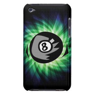 Green 8 ball iPod touch case