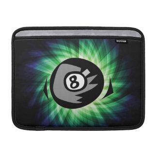Green 8 ball MacBook air sleeves