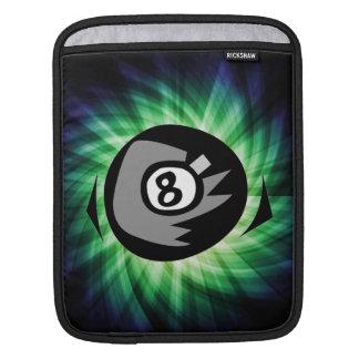 Green 8 ball iPad sleeve