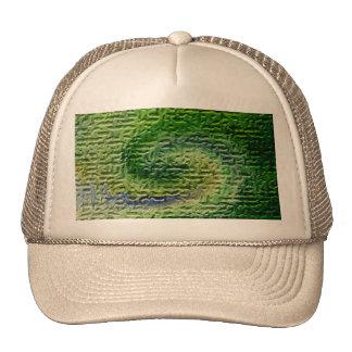 Green Abstract Art Trucker Hat