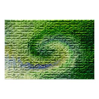 Green Abstract Art Photo