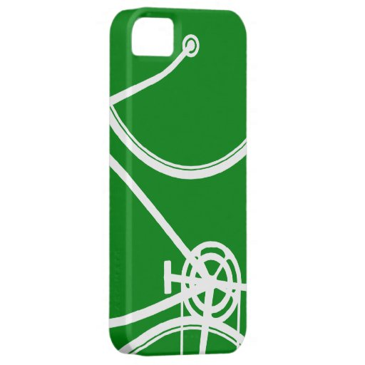 Green Abstract Bicycle iPhone 5 Case