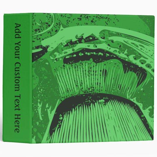 Green Abstract. Binder